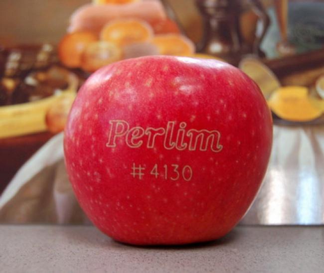 Новый вид маркировки фруктов - лазерная гравировка